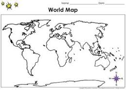 blank continent map the 25 best map with continents ideas on