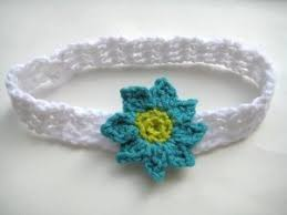 crochet baby headband baby headband with flowers allfreecrochet