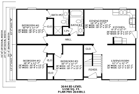 floor plans 3 bedroom 2 bath premier ranch and bi level homes floor plans homes from gary s