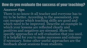 Kindergarten Teacher Assistant Job Description Top 15 Teacher Interview Questions And Answers Youtube