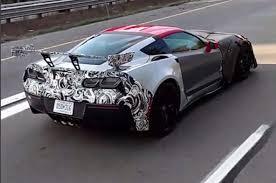 2016 chevrolet corvette zr1 rumored chevrolet corvette zr1 prototype testing in traffic