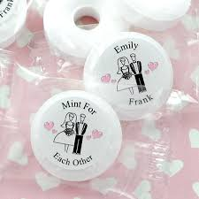 mint to be wedding favors savers personalized wedding mint favors