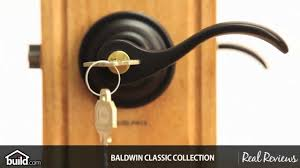 Baldwin Door Stops Baldwin 5255 Wave Lever With Classic Rosettes Youtube
