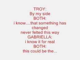 New Lyrics High School Musical Start Of Something New Lyrics
