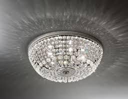 nella vetrina italamp 1015 30 swarovski crystal ceiling light
