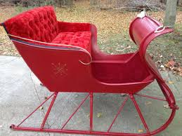 santa sleigh for sale cutter condition sleigh cutter for sale otsego michigan