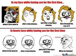 Sex Face Meme - faces while having sex by midnight940 meme center