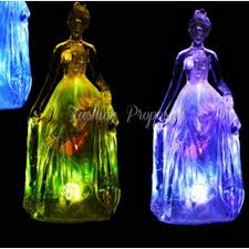 12 centerpieces led quinceanera figurine statue cake topper
