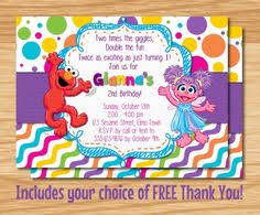 download now free template elmo birthday invitations with photo