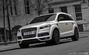 Audi Q7 Modified - a kahn design adds bespoke touch to the audi q7