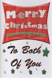 cards merry to both of you