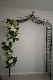 wedding arches bunnings for ceremony and then reuse for the front garden