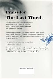 Best Chef Resume by The Last Word A Novel Hanif Kureishi 9781476779201 Amazon Com