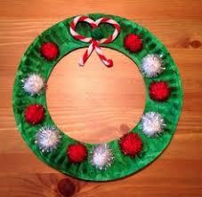bow tie noodle wreath craft for christmas card idea wreaths