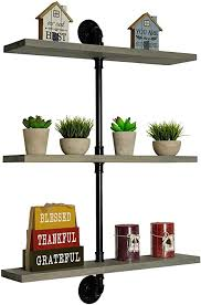 what of wood is best for shelves imperative décor angled pipe shelves rustic wood floating shelves with industrial iron pipe wall mounted retro black pipe shelf for bookshelf