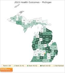 Michigan Counties Map Michigan Rankings Data County Health Rankings U0026 Roadmaps