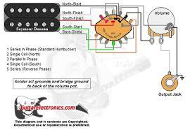 humbucker 1 volume 5 way rotary switch