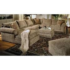 Chenille Sectional Sofa Chenille Sectional Sofa With Ottoman Catosfera Net