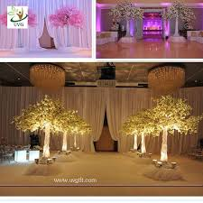 uvg 10ft wedding decoration trees in silk cherry artificial flower