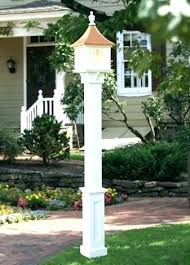 small outdoor post lights outdoor solar post lights in l store design 16 barnonestudio com