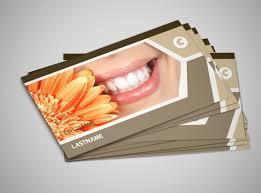Dental Business Card Designs Dental Clinic Business Card Template Mycreativeshop