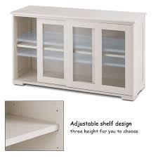 glass kitchen cabinets sliding doors storage cabinet sideboard buffet cupboard glass sliding door