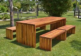 skillful wooden outdoor furniture modest decoration eucalyptus