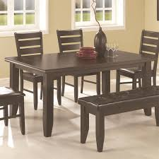 cappuccino dining room furniture collection coaster furniture 102721 page dining table in cappuccino