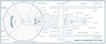 star trek blueprints u s s excelsior ingram class plans