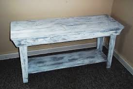 Distressed Sofa Table by Rustic Console Table Console Table Shabby Rustic Chic