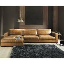 canapé d angle cuir marron photos canapé d angle cuir marron clair