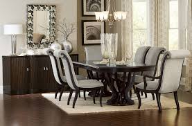 savion espresso double pedestal dining table for 759 94