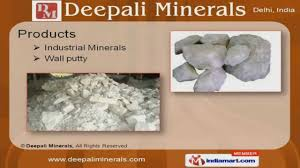 Wall Putty by Wall Putty By Deepali Minerals New Delhi Youtube