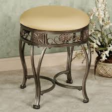 Bathroom Vanity Bench Rolling Vanity Stool Vanity Stool Vanities And Stools