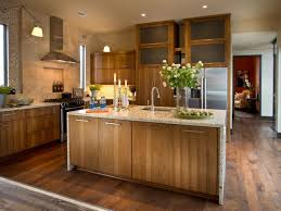 Natural Hickory Kitchen Cabinets Kitchen Cabinet Material Pictures Ideas U0026 Tips From Hgtv Hgtv