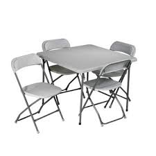 Costco Folding Table And Chairs Costco Folding Card Table And Chairs 5 Pc Set Baby Shower