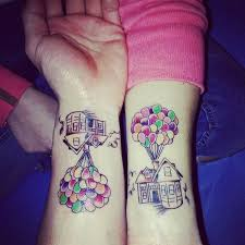 21 adorable couple tattoos inspired by disney tattoo ideas