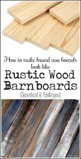 How To Make A Tabletop Out Of Reclaimed Wood by Make New Wood Look Like Old Distressed Barn Boards Woods Craft