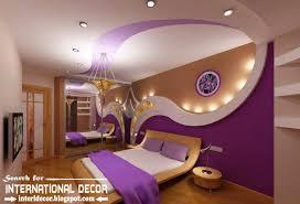 Gypsum Interior Ceiling Design Contemporary Pop False Ceiling Designs For Bedroom 2015
