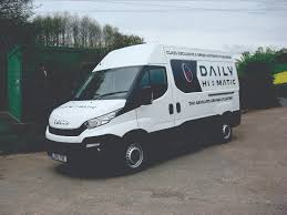 the what van road test iveco daily hi matic