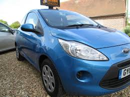 2012 Ford Ka Used 2012 Ford Ka Edge 3dr 30 Tax 13250 Miles For Sale In Bognor