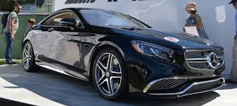 mercedes s 65 amg s65 amg coupe debuts in monterey