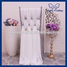 chiffon chair sash sh008b wholesale cheap fancy wedding chiffon chair sash view