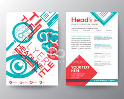 flyer graphic design layout education brochure flyer design layout template in a4 size stock