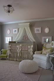 baroque swivel glider in nursery traditional with pink paint next