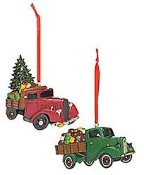 amazon com vintage truck ornaments country christmas ornaments