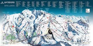 Squaw Trail Map Skiing Zermatt Zermatt Ski Lifts Terrain Snow Trail Maps And