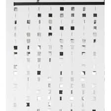 black and white curtains ikea amazoncom best home fashion thermal
