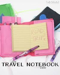 diy notebook case for kids crafts unleashed