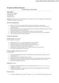freelance resume writing